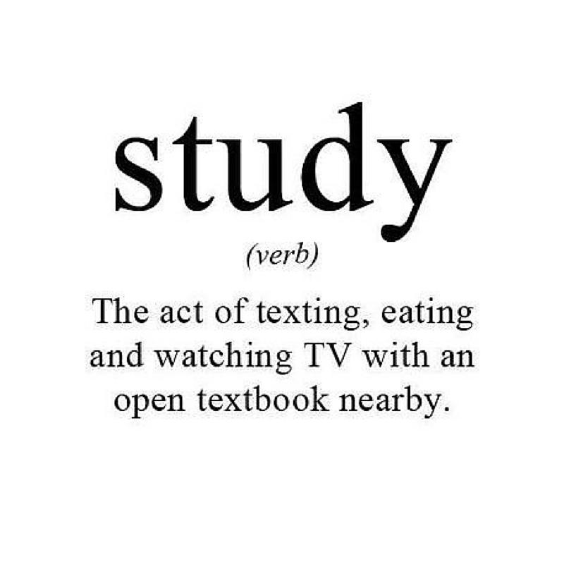 Funny Study Quotes Tumblr