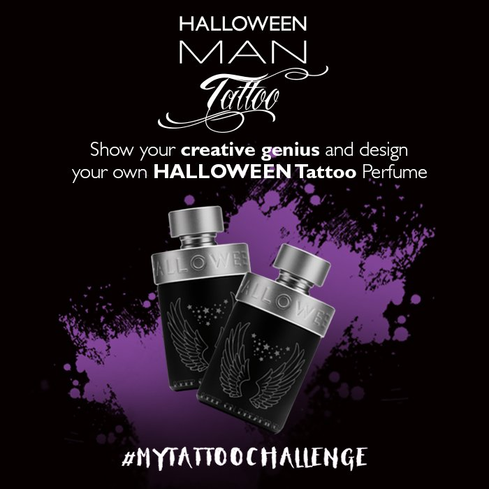 Paris Van Java on Twitter \u0026quot;NEW Halloween Man Tattoo, exclusively at CF stores. Design botol parfum HalloweenTattoo kreasimu @cnf_perfumery