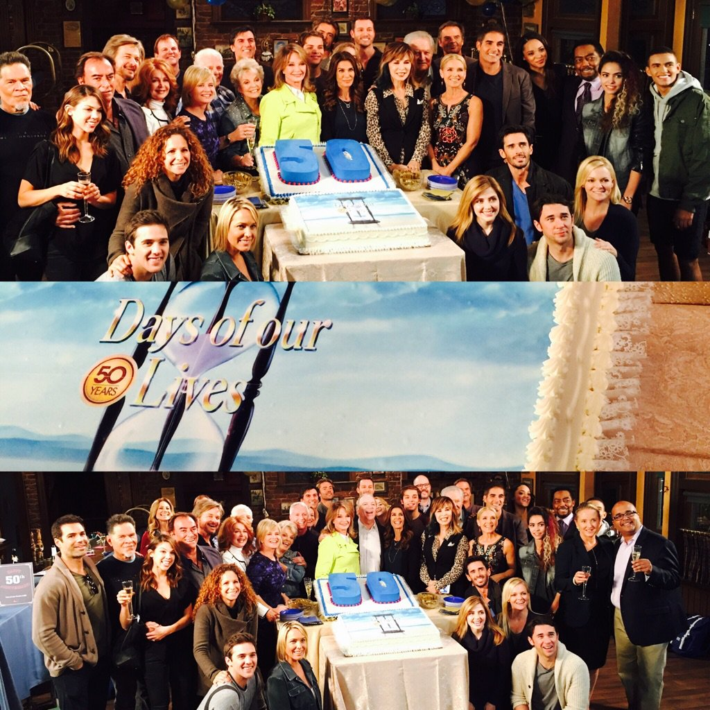 Onstage celebration today Happy #days50 with @nbcdays team!!!