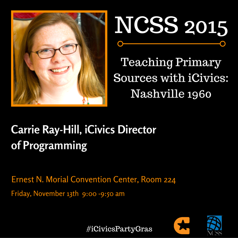 Make your #NCSS15 conference schedule here: https://t.co/t9LOo6vzNj  Don't forget to add us! #sschat https://t.co/KnVyQvhGKN