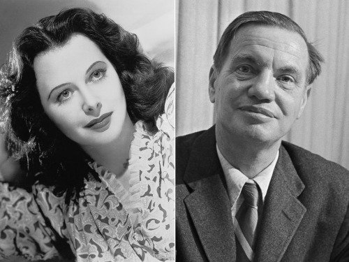 Foto Hedy Lamarr con George Antheil