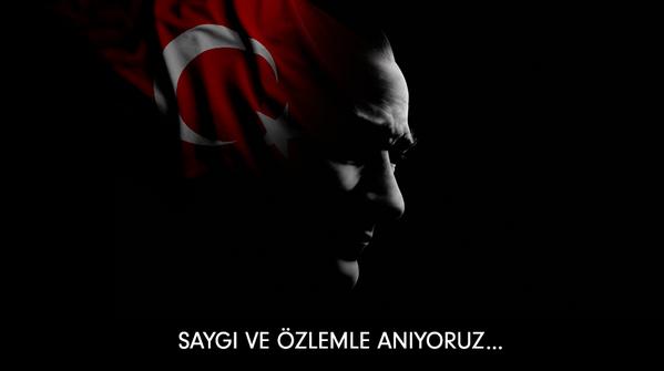 Cumhuriyetimizin kurucusu Mustafa Kemal Atatürk'ü, saygı ve sevgiyle anıyoruz. https://t.co/F77V4m5Te7
