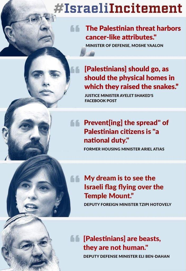 When did being a moral country include this kind of blatant racism #IsraeliIncitement #FreePalestine https://t.co/7pr4V8MM2C