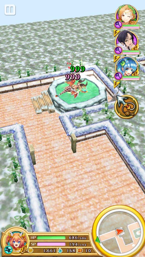 【白猫】「白猫温泉物語」新ギミックの温泉はHPSP全快&攻速バフ効果!本気を出したポンちゃんの弾幕が凄すぎるwwww【動画あり】