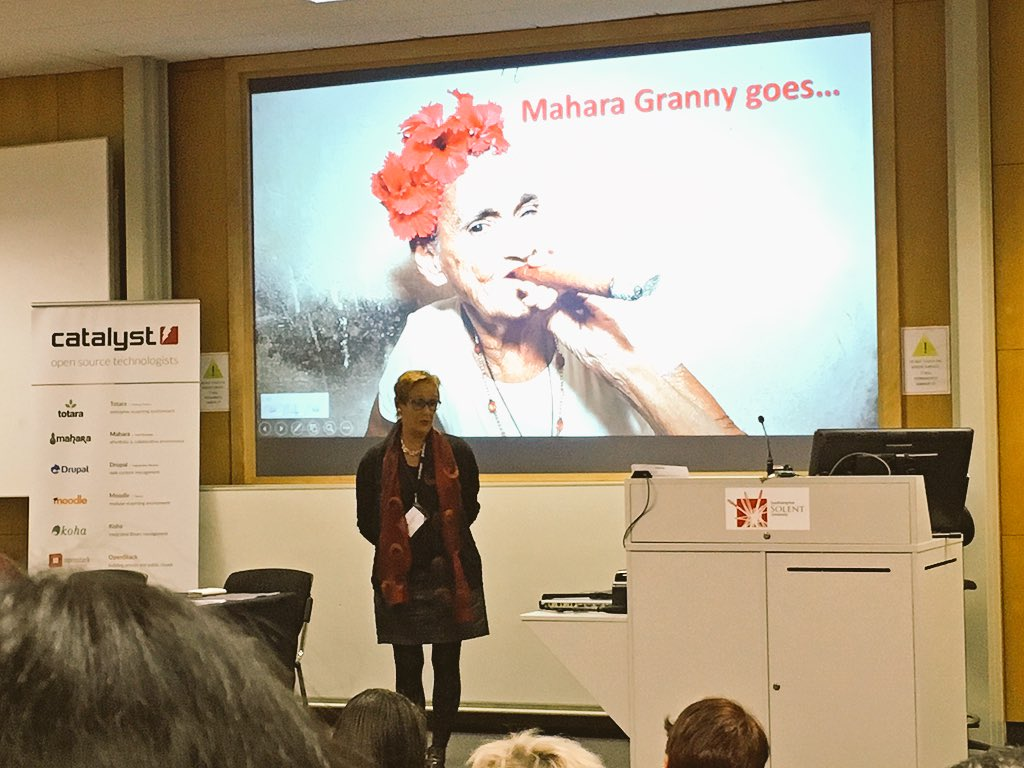 Our #Mahara granny, Sigi shares her story xxx @Networking_Lady  #MaharaUK15 https://t.co/t0PrmKZwSm