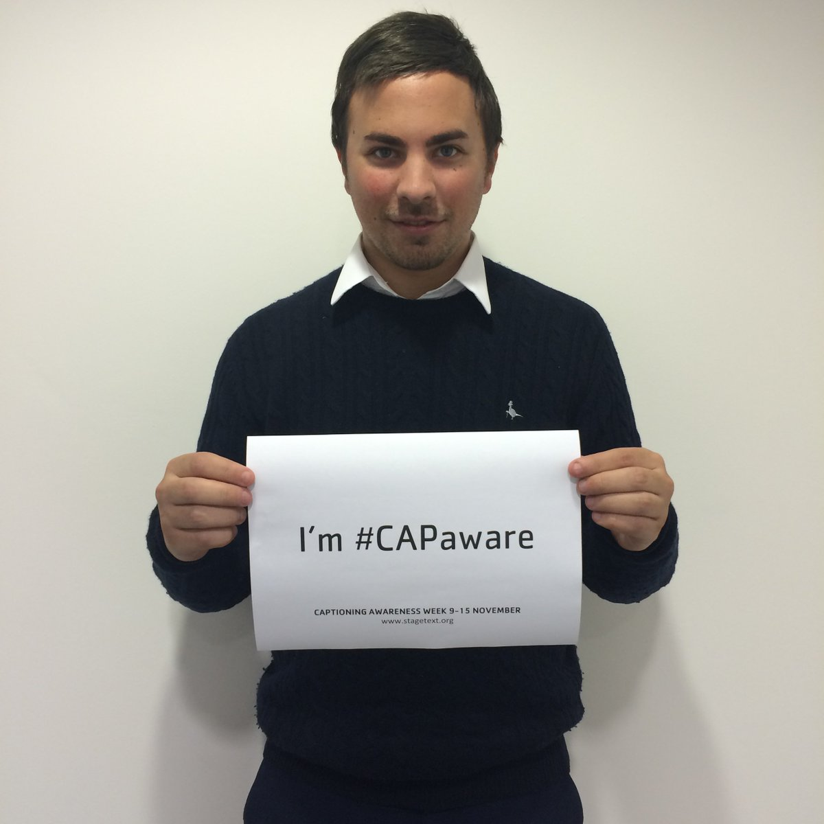 DT's favourite monochrome dresser @LukeFlanagan88 is #CAPaware and he knows it. https://t.co/Tn8diq2U6c