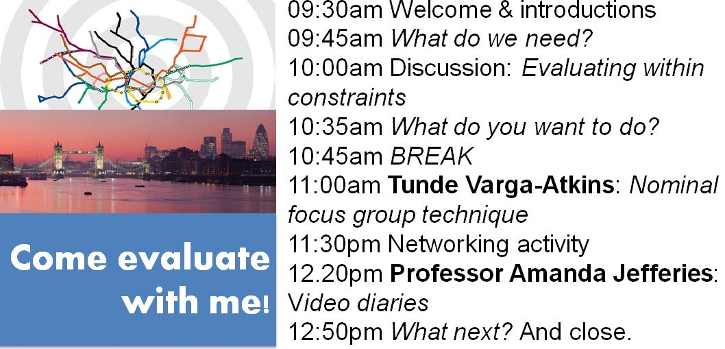 #ELESIG London agenda for tomorrow morning https://t.co/MsEWmodAuD