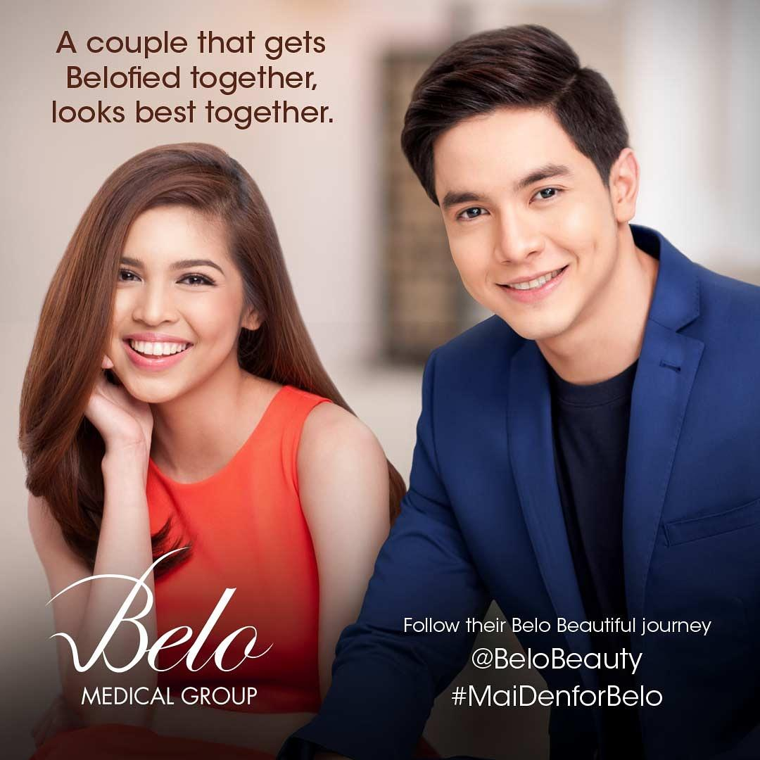 Let's see how many RTs this #MaiDenForBelo photo can reach!