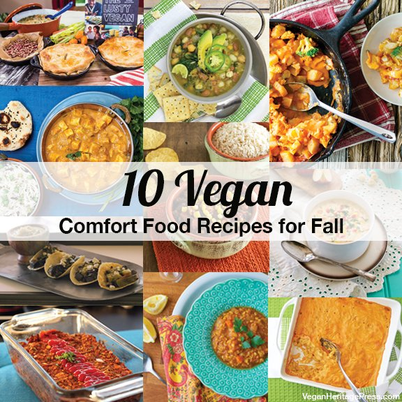 For those chilly days – 10 Vegan Comfort Food Recipes for Fall from @VeganPress https://t.co/b0SQGbyiDD https://t.co/B0m0ZgAty5
