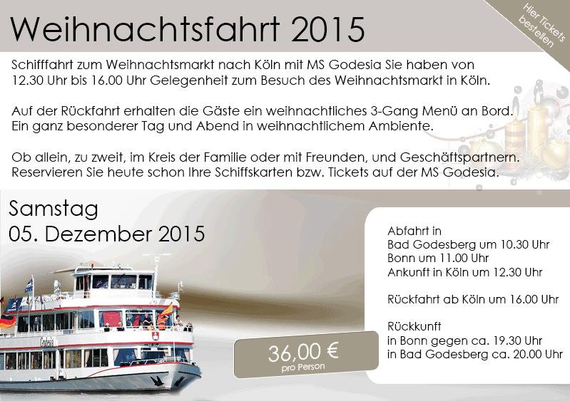 Weihnachtsfeier Schiff Köln.Rheinticket Rheinticket Twitter