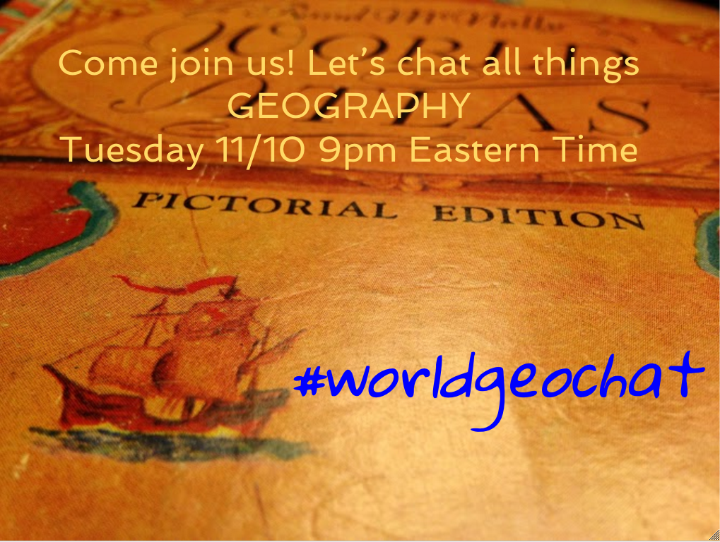 Thumbnail for #worldgeochat - Homework
