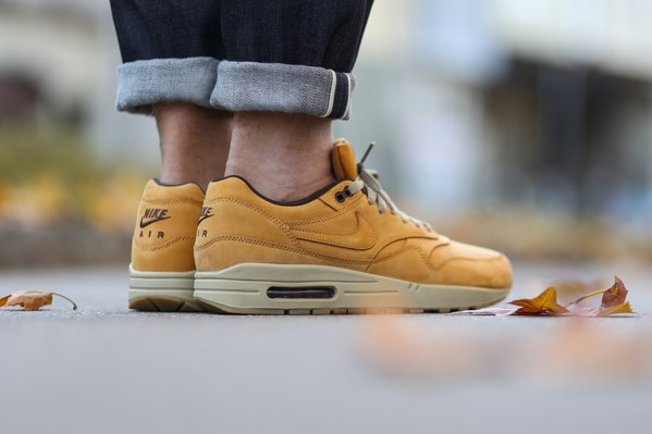 Nike Air Max 1 Leather Premium Bronze Bronze Baroque Brown