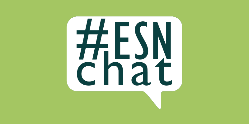 Welcome to #ESNchat for everyone interested in enterprise social networks! #esn https://t.co/9HnKi3UHWO