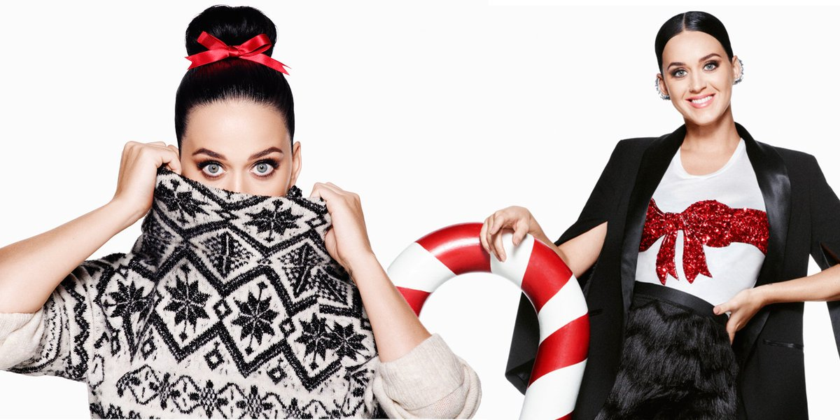 Katy perry in h&m\'s christmas campaign? delightful! - scoopnest.com