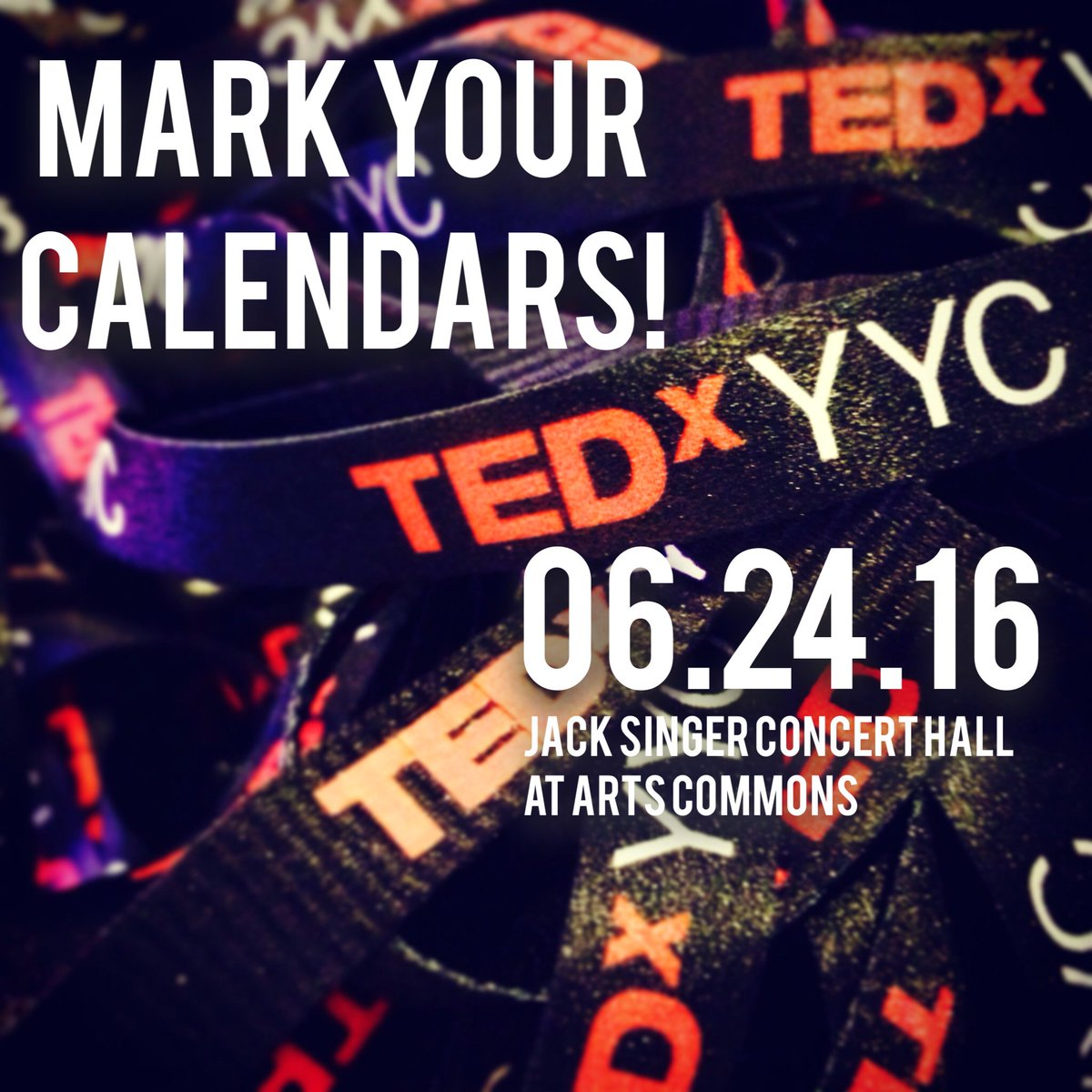 WANTED: Big Thinkers, Action Takers, and Product Makers. #TEDxYYC is returning to @yycarts on June 24, 2016. https://t.co/6LJPSlgxMV