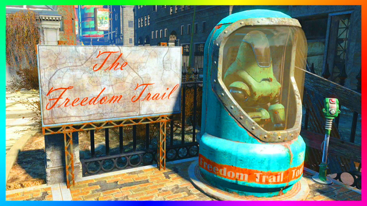 ross on twitter fallout 4 how to find the freedom trail easter