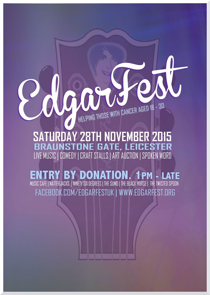 Just over 2 weeks to @EdgarFest_UK and it's taking shape nicely...Will be a great day/night  @DICPUK https://t.co/yHiMRE0Fca