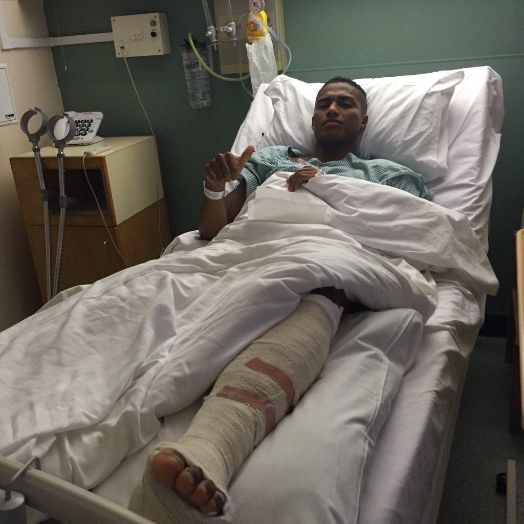 Луис-Антонио Валенсия успешно перенес операцию на ноге