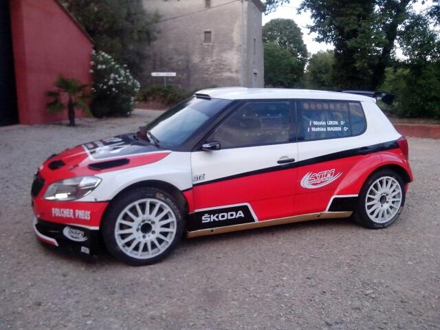 buy sell rally car on twitter skoda fabia s2000 for. Black Bedroom Furniture Sets. Home Design Ideas