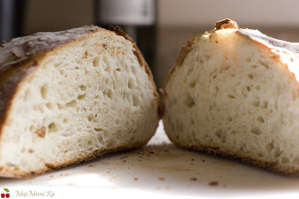 Хлеб в домашних условиях без дрожжей из ржаной муки