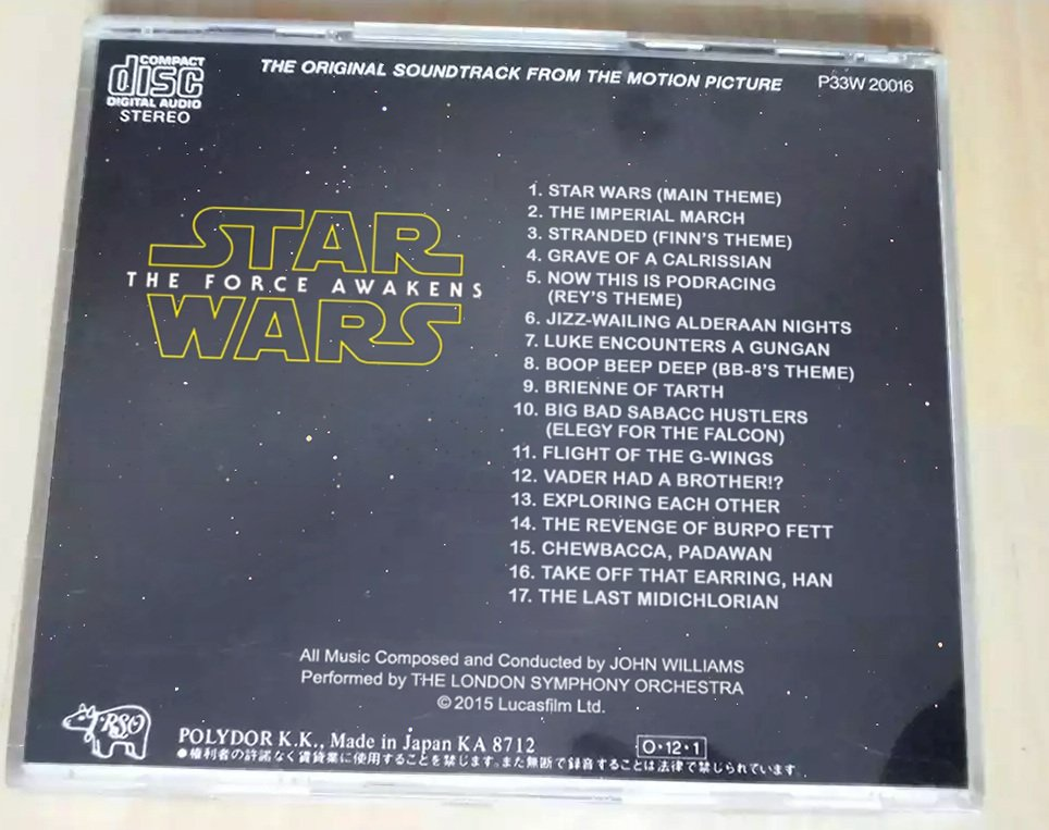OMG the track listing for The Force Awakes gives away SO MUCH! DON'T LOOK AT IT!!! https://t.co/W7qpm1JHll