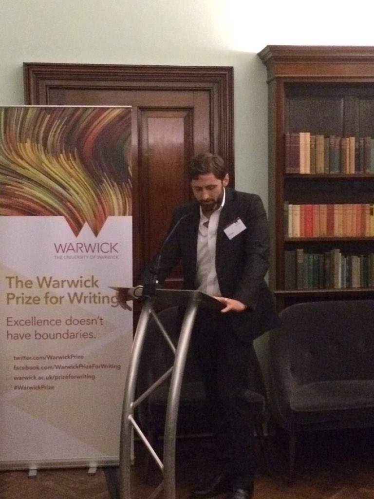 RT @Kinhead: Hats off to @PhilKlay for scooping 2015 @WarwickPrize for #Redeployment @Taffyagent https://t.co/BpCgeB9EG8