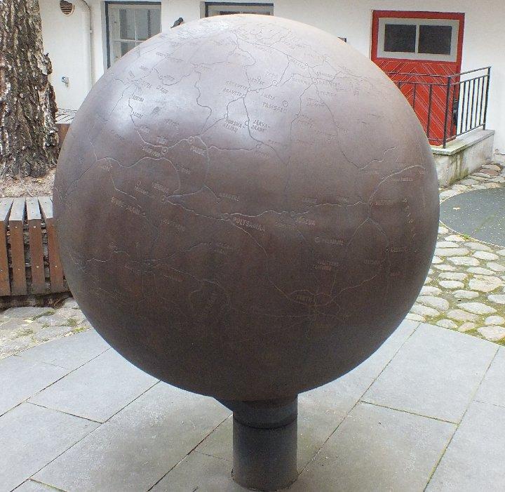 Эстонский глобус без россии фото