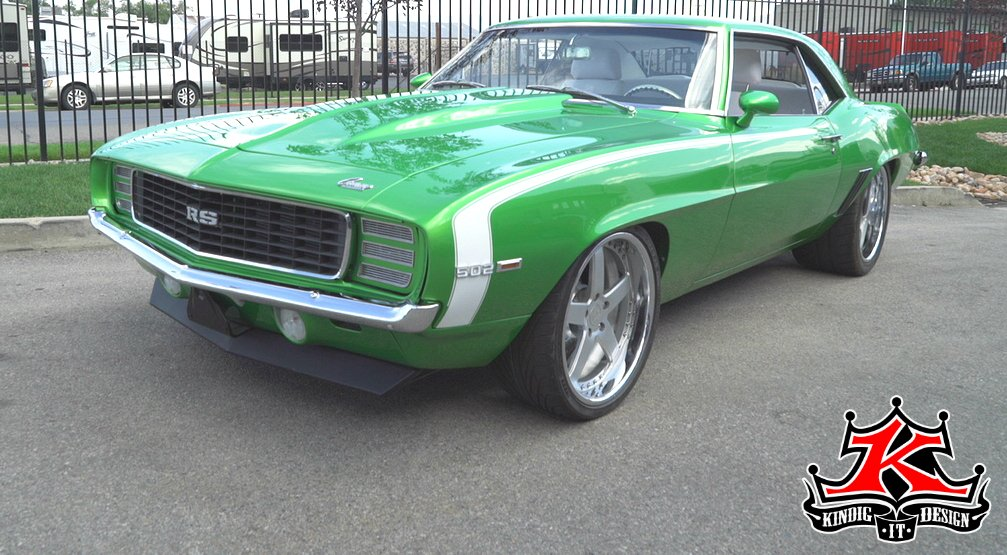 Kindig It Design On Twitter The Green Camaro Was Rescued What Did