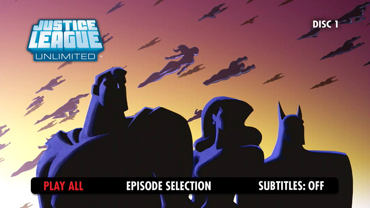 Justice League Unlimited -finally unleashed on Blu-ray! #JLU https://t.co/f0GJ2fQcFt https://t.co/eatnQRmAF5