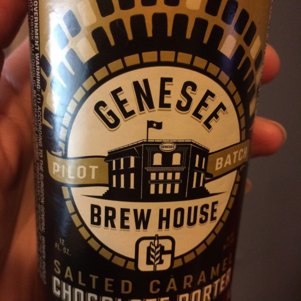Have you tried @GeneseeBrewery Salted Caramel Chocolate Porter? Delicious! @BrewStuds #TopBrewsTues https://t.co/gSJn9r5FRs