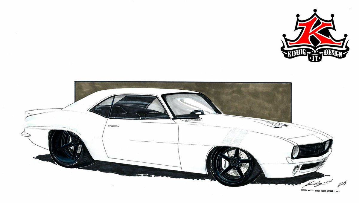 Kindig It Design On Twitter It S A Bitchin Camaro What Do You