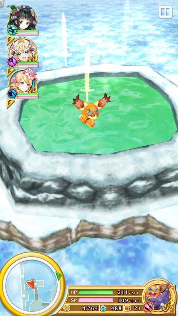 【白猫】温泉につかったキャラ達の可愛い入浴画像集!タコパスや凸凹、アンドリューがシュールすぎるwwww【プロジェクト】
