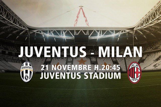 Juventus Milan allo Stadium, oggi alle 20:45 in Diretta TV Streaming.