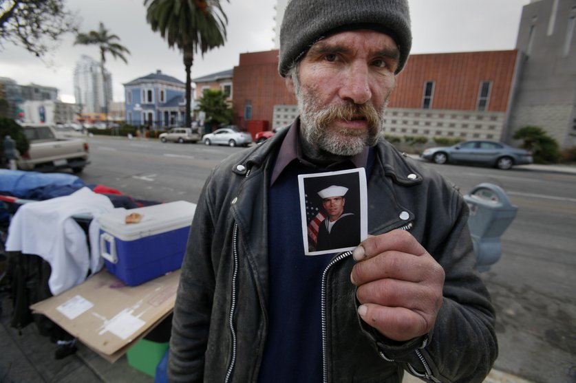If America is the home of the brave, why are so many of the brave homeless? #VeteransDay https://t.co/Gfvwpgo4o8