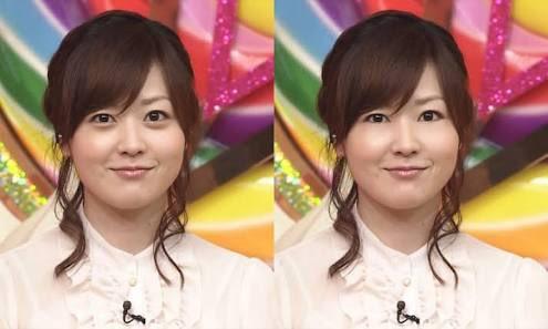 もしも........大島優子の瞳に涙袋がなかったのなら?