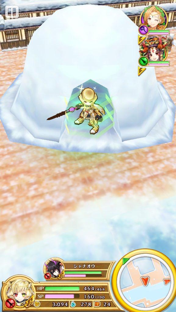【白猫】「白猫温泉物語」で新ギミック『氷の床』が登場!スケートやかまくらなど遊び心のあるマップで楽しい!【プロジェクト】