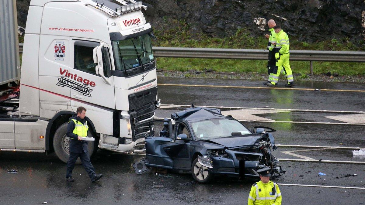 """the irish times on twitter: """"m50 crash update: garda forensic"""
