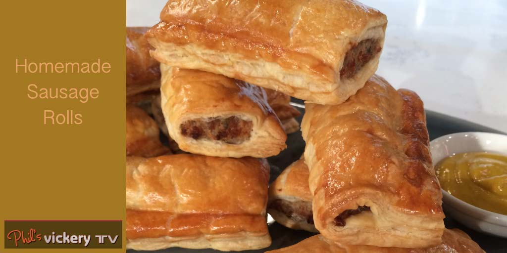 Phil Vickery's sausage rolls | Food | This Morning