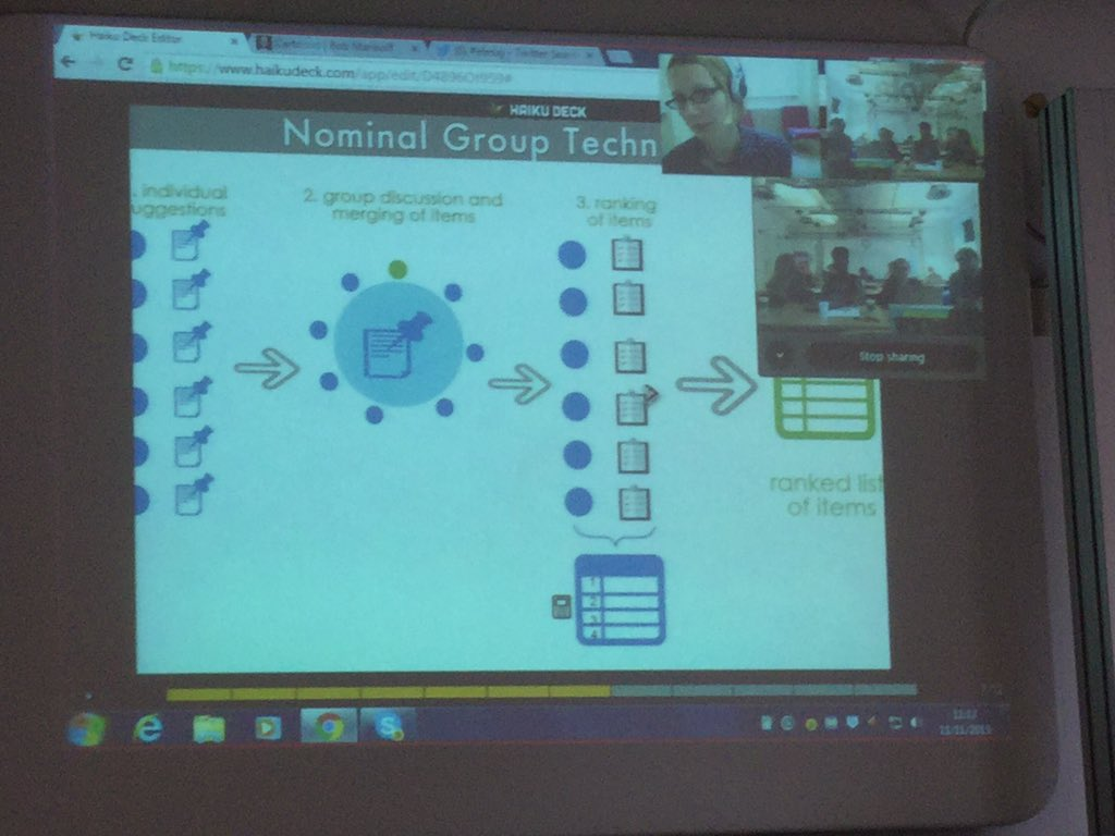 Overview of @tundeva's nominal focus group technique #ELESIG https://t.co/lGesQRnjXn