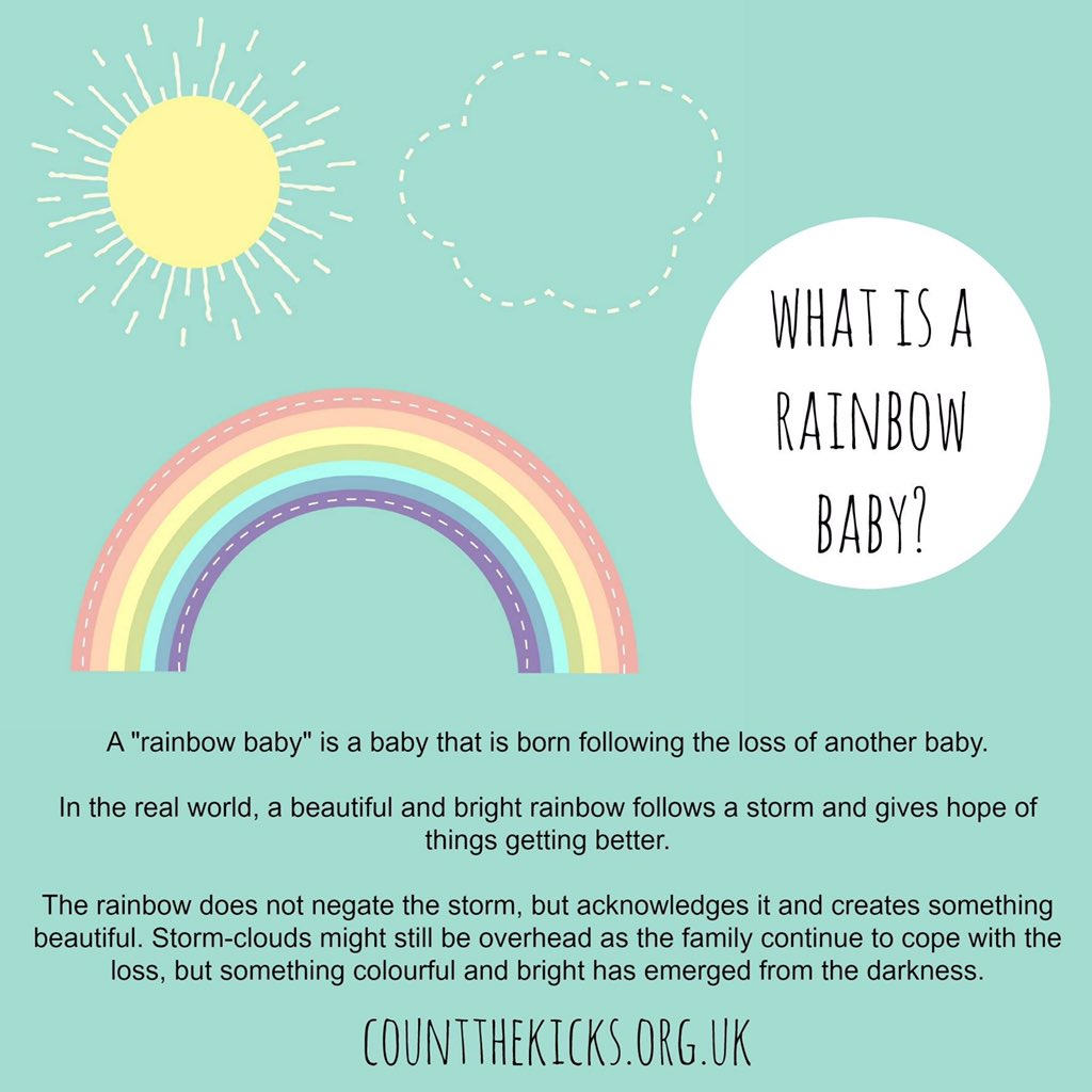 kicks count on what is a rainbow baby rainbowbaby
