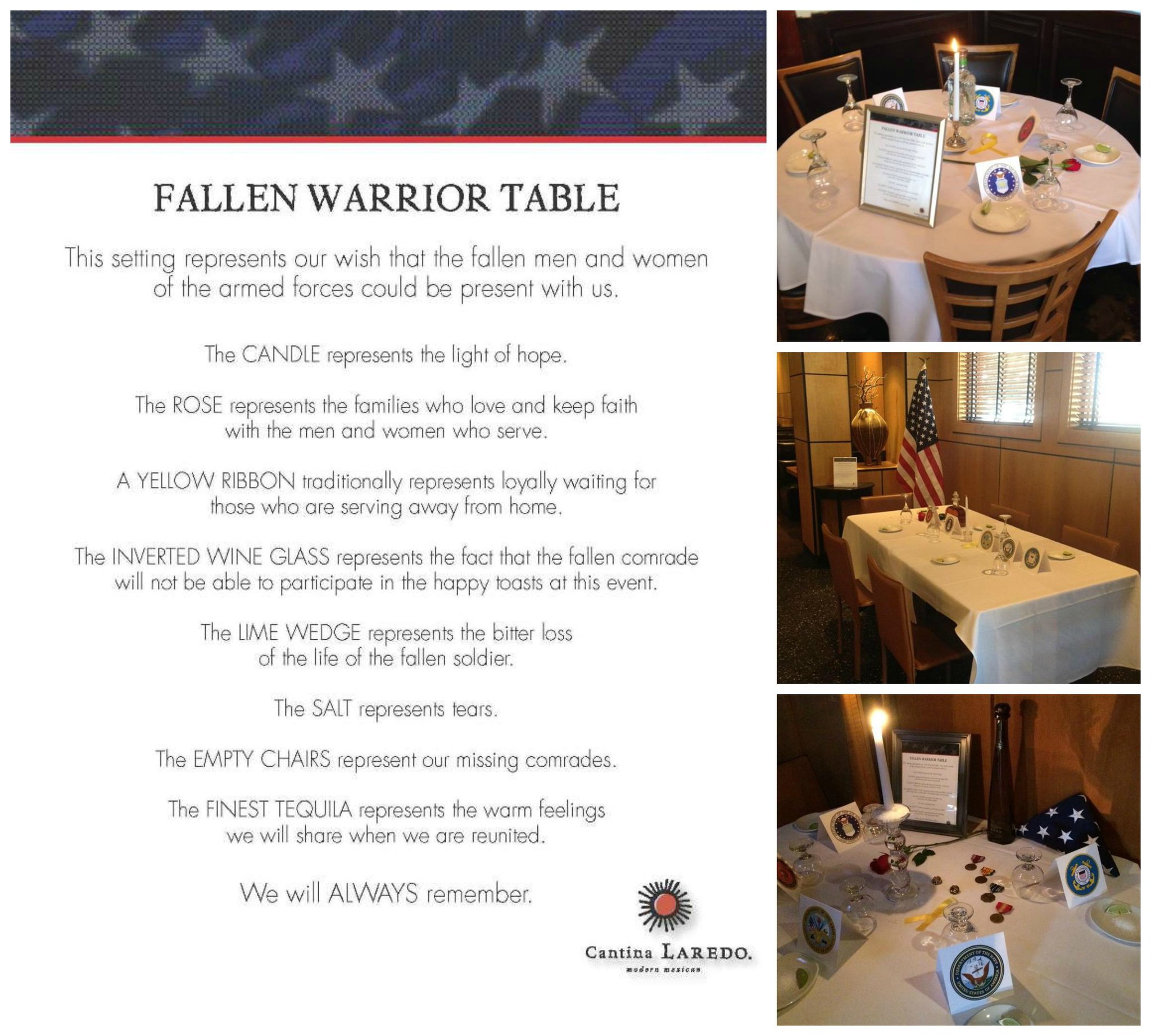 Epic image in fallen soldier table poem printable