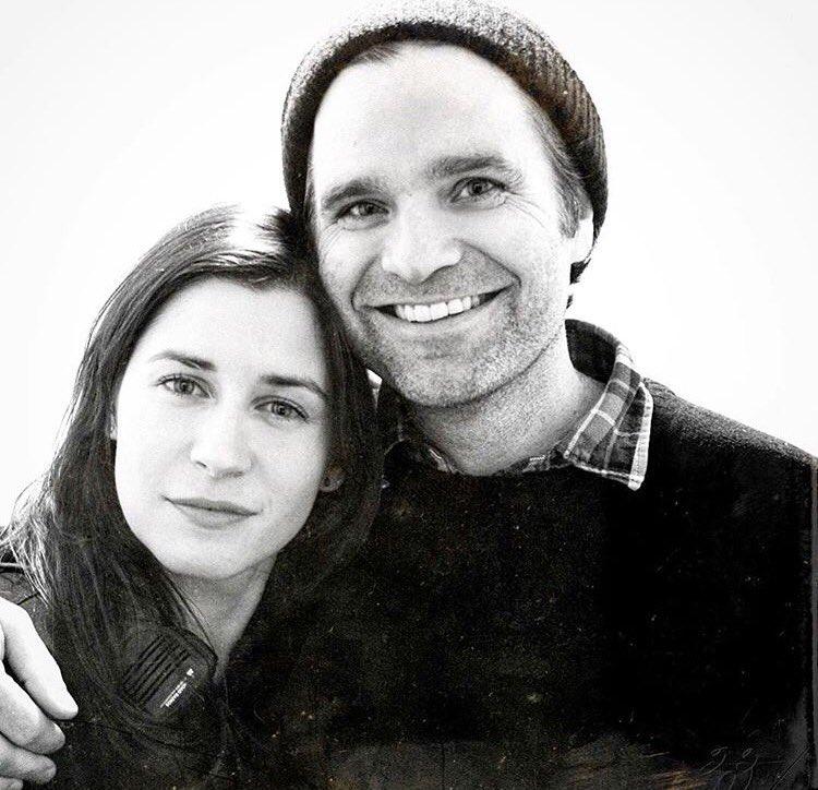 Ben Gibbard with talented, Wife Rachel Demy