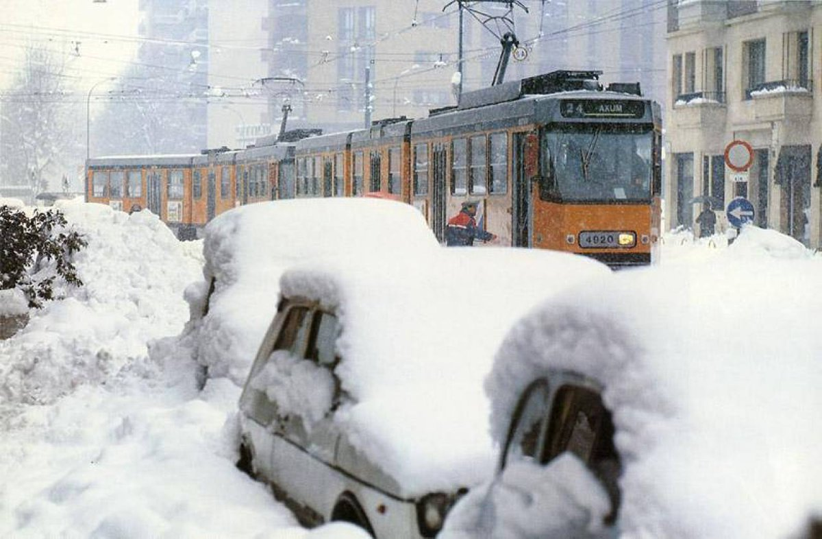 Allerta Meteo: ondata di gelo in Italia da Nord a Sud