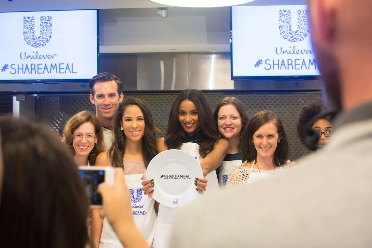 Proud to join @unileverusa & @ciara in the fight to end childhood hunger—Every #ShareAMeal retweet donates 1 meal! https://t.co/sFzuNi24U9