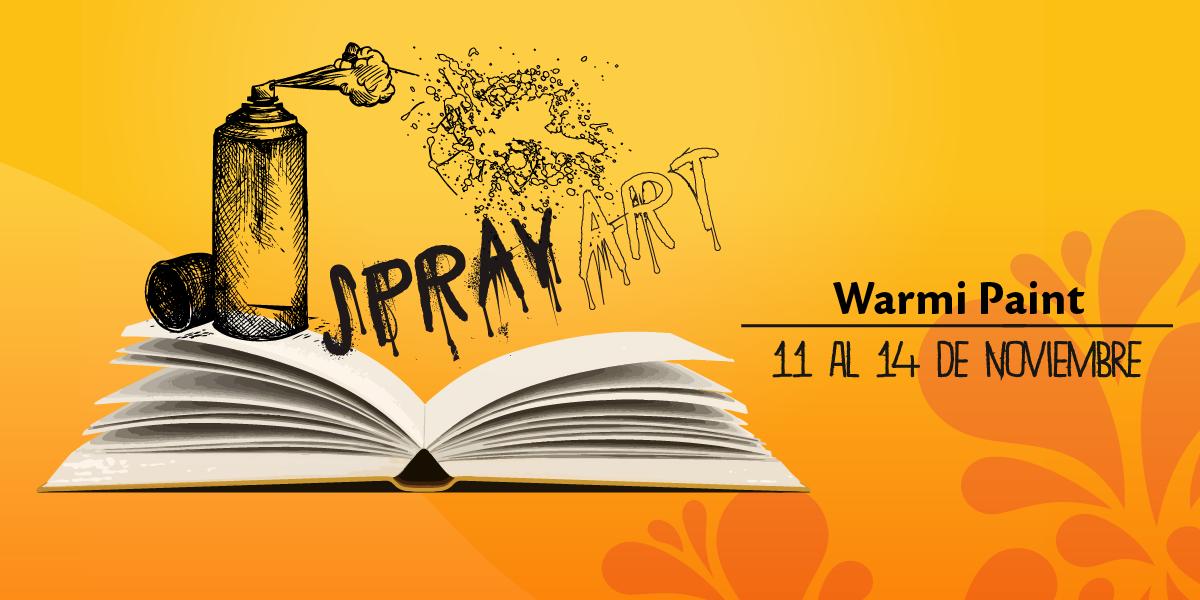 Descubre la fusión y el arte que trae el graffiti en esta increíble expo. #WarmiPaint https://t.co/nQy4ig4efl