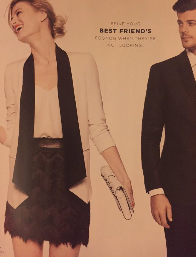 Bloomingdale's 'Inappropriate' Holiday Ad Stirred Up Some Festive Internet Outrage