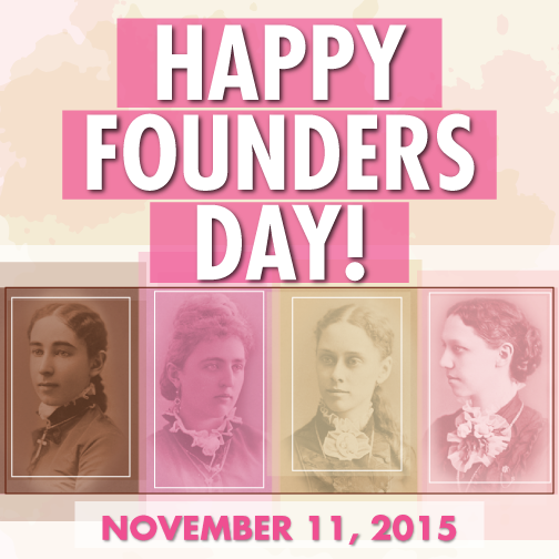 Happy Founders Day! Today we celebrate 141 years of sisterhood, service, scholarship and leadership. #BeGammaPhiBeta https://t.co/obFamFbmnL