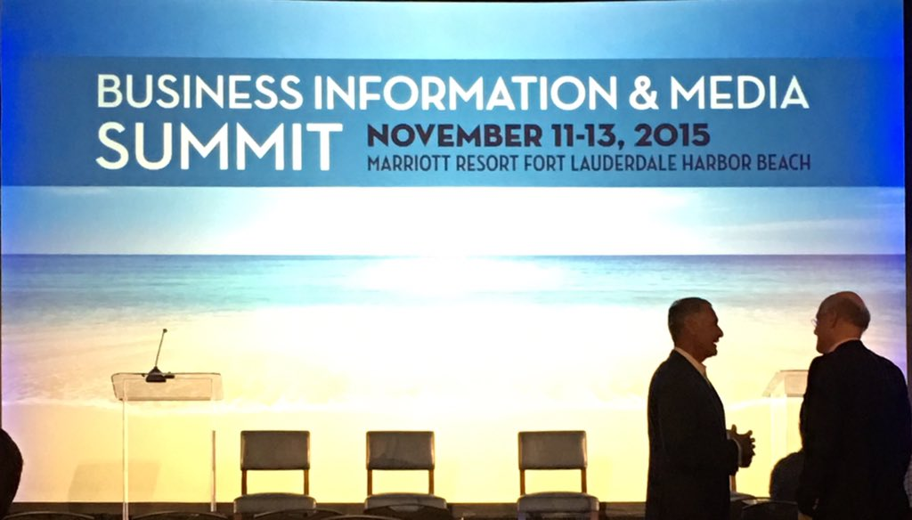 Here we go @ the Business Information & Media Summit #BIMS15 https://t.co/xl1P8jv5Zp