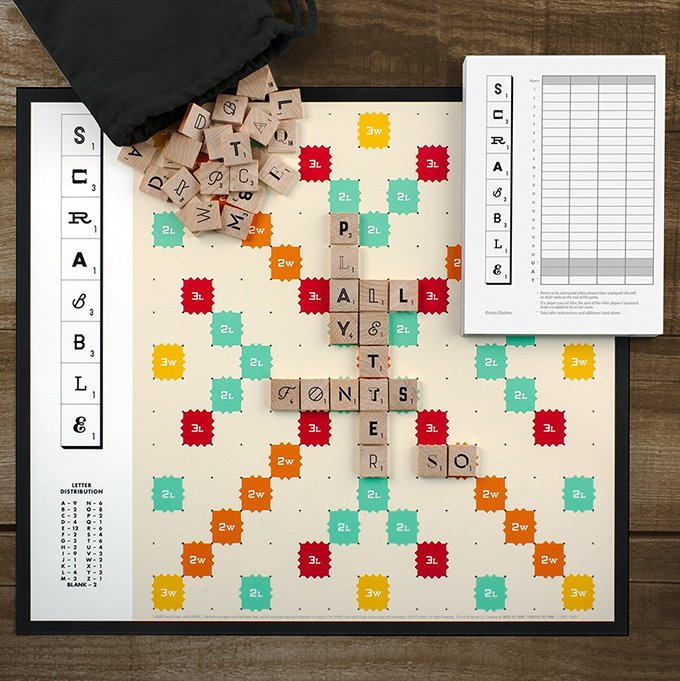 Lusting over this Typography edition of Scrabble: https://t.co/EkgUU45ySG https://t.co/FrLVOxGkvI
