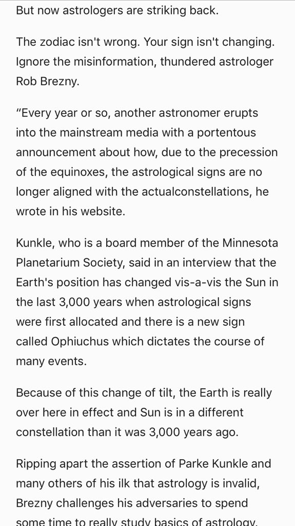 Girl From Mars On Twitter The 13th Zodiac Isnt Real Via Https